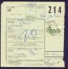 D331 -België  Spoorweg Chemin De Fer  Document   Stempel AMPSIN - Chemins De Fer