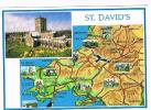 GRAN BRETAGNA (UNITED KINGDOM)  - WALES: ST. DAVID'S PEMBROKESHIRE (CATHEDRAL)    -  NUOVA  RIF. 527 - Pembrokeshire