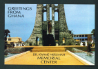 GHANA  -  Dr Kwame Nkrumah Memorial Center/Unused Postcard As Scans - Ghana - Gold Coast