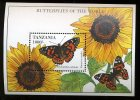 Tanzania  Bloc 248 **  Papillon   Butterfly - Mariposas