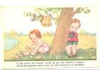 FANTAISIE- Illustrateur-Fillette Se Désabillant Pour Aller Nager épiée Par Un Petit Garçon- Voyeur,  - Humour (Y220)b90 - Illustrateurs & Photographes