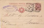 "PALERMO / SCIARA - Card_ Cartolina Pubbl. ""Ufficio Impresa Forniture CARCERI - Sterlini Emanuele "" - 1903 - 1900-44 Victor Emmanuel III"