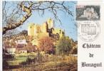 Carte Maximum Premier Jour,  Chateau De Bonaguil  10.07.1976 - Maximum Cards & Covers
