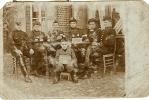Het Leger - L´armée : Carte-photo - Brasschaet-Polygone : 1904 - Characters