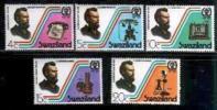 SWAZILAND 1976 MNH Stamp(s) Telephone Cent. 261-265 # 6641 - Swaziland (1968-...)
