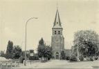 HALEN -  LOKSBERGEN  :  St. Andreaskerk      ( GROOT FORMAAT   15 X  10.5 Cm ) - Halen
