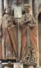 ZS33827 Statuen Des Markrafen Hermann Naumburg Dom  Not Used Good Shape - Naumburg (Saale)