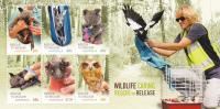 Australia.....:     2010 Wildlife Caring  MS MNH - Sheets, Plate Blocks &  Multiples