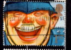 Great Britain 1991 1 St Laughing Policeman Issue #1369 - 1952-.... (Elizabeth II)