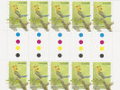 Australia.....:     2010 Kingfishers,Yellow Billed Gutter Strip - Sheets, Plate Blocks &  Multiples
