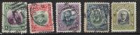 Cuba 1910 N°153 à 157 Oblitérés Cote 1€ - Cuba