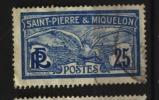 Saint Pierre Et Miquelon SPM  N° 84  Oblitéré     Cote  2,70 €     Au Quart De Cote