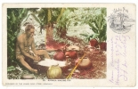 Hawaii - Hanaka Making Poi - Aloba Nui - Hawiian Island - édit; Island Curio Store -n° 35 - TB (voir Scan) - Etats-Unis