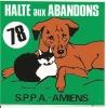 SPA AMIENS / HALTE AUX ABANDONS - Stickers