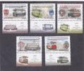 Romania 2009 Full Set MNH + Labels, TRAMWAYS TRAM,EXTRA PRICE!. - Tramways