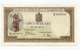 """Roumanie Romania Rumänien 500 Lei """" 22 - 07 - 1941 """" AUNC/UNC # 1 - Romania"""