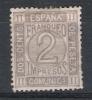 01531 España Edifil 116 (*) Cat. Eur. 33,- - 1872-73 Reino: Amadeo I