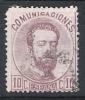 01535 España Edifil 120 O Cat. Eur. 390,- OPORTUNIDAD - 1872-73 Reino: Amadeo I