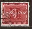 BRD 1956 // Mi. 227 O (019..513) - Used Stamps