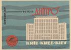 KIEV / SEE LEGEND  HOTEL    ///// - Etiketten Van Hotels