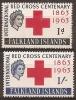 FALKLAND ISLANDS - MNH ** 1963 QE II International Red Cross Centenary. Scott 147-8 - Falklandeilanden