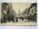 Cpa, Très Belle Vue Animée, Lamballe, Le Rue Du Val - Autres Communes