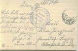 Feldpost 1.WK  MILITÄREISENBAHNDIREKTION 1 Nr. 35  1915 - Deutschland