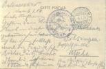 Feldpost 1.WK  MILITÄREISENBAHNDIREKTION 1 Nr. 121  1916 - Deutschland