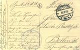 Feldpost 1.WK  MILITÄREISENBAHNDIREKTION 1 Nr. 159  1916 - Deutschland
