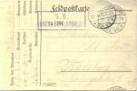Feldpost 1.WK  EISENB.-BETR.-KOMP. 65  1916 - Deutschland