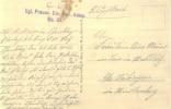 Feldpost 1.WK  KGL. PREUSS. EIS. BETR. KOMP. No 21  1915 - Deutschland