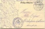 Feldpost 1.WK  MILITÄR MASCHINENAMT DER MILITÄR-EISENB.-DIREKT. 7  CUPRIJA  1916 - Deutschland