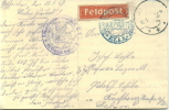 Feldpost 1.WK  EISENBAHN...........M.E.D. 5 KOSCHEDARY  1918 - Deutschland