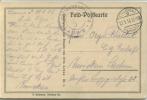 Feldpost 1.WK  ORTSKOMMANDANTUR LAUWE  Tournai 1916 - Deutschland