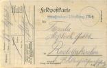Feldpost 1.WK  STRAßENBAU-ABTEILUNG METZ   1916 - Deutschland
