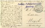 Feldpost 1.WK  FESTUNG-FUHRPARKKOLONNEN-ABTEILUNG  (Namur)  1915 - Deutschland