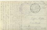 Feldpost 1.WK Kriegs-Lazarett Leichtkrankenabteilung LANEUVILLE B. STENAY   XVI. A.K.  1916 - Deutschland