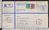 B7697 GREAT BRITAIN Postal History 1988 4 5 P ROYAL MAIL REGISTERED LETTER - 1952-.... (Elisabetta II)