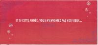 Pochette 2007, Billet De Train, TGV , SNCF N'envoyez Pas Vos Voeux / Dessin Christian Lacroix Couturier France - Biglietti Di Trasporto