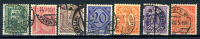 1920 - GERMANIA REICH - GERMANY - ALLEMAGNE - DEUTSCHES REICH - Mi. Nr. 26/22 - Used - (W23052012..) - Service