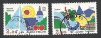 Finnland, 1993, Mi.-Nr. 1210-1211, Gestempelt - Oblitérés