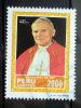 Peru - 1985 - Mi.nr.1292 - Used - Visit Of Pope John Paul II - Pope John Paul II - - Peru