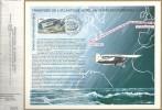CEF 407 - 50ème Anniv. Traversée Atlantique Nord Charles Lindbergh - 1er Jour Le Bourget - Nogent S/marne T PA50 - Covers & Documents