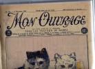 Mon Ouvrage ( Petit écho De La Broderie): 25 Numéro Reliés , Du N° 139 Du 1er Décembre 1928 Au N° 164 Du 15 Décembre 29 - Newspapers