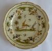 Assiette Décor D'oiseaux Avec Support - Moustiers (FRA)