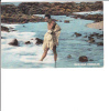 Hawaiian Fisherman Man With Net On Beach - Verenigde Staten