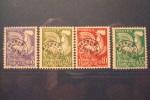 FRANCE . PREOBLITERES . N° 119/122 Oblitérés - 1953-1960