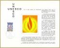 CEF 158 - UNESCO 1er Jour 13.02.1971 Paris - T. De Service 39 - Lettres & Documents