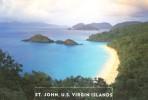 Carte entier postale neuve de U. S. A. - ST  JOHN / r�cif corail / plong�e sous marine  / for�ts