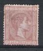 01548 España Edifil 167 (*) Cat.: Eur. 163,- - 1875-1882 Regno: Alfonso XII